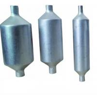 Buy cheap Air Conditioner Refrigerator Aluminum Accumulator 24*203mm 0.8 - 1.2mm Thick from wholesalers