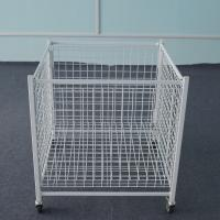 Buy cheap Metal  Dump Bin  Steel Mesh Storage Cages For Store Or Supermarket from wholesalers