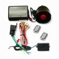 Buy cheap One-way Car Alarm/Auto Security System with Real-time Clock and FM Technology from wholesalers