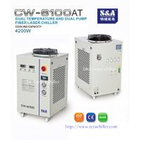 Buy cheap Industrial water chiller for 500W fiber laser CW-6100AT from wholesalers