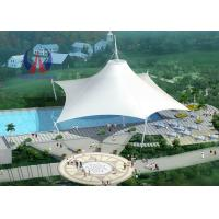 Buy cheap Space Frame Park Shade Structures Sun Shelter Canopy For Park Area , Light And Spaciou Membrane Structure Without Wall from wholesalers