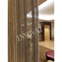 Buy cheap Decorative Metal Mesh Chain Link Curtain from wholesalers