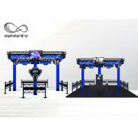 Buy cheap 4 Players 9D VR Simulator , International VR Virtual Reality Machine from wholesalers