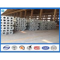 Wholesale 7.6M 3mm Thick Conical Hot Dip Galvanized Street Light Steel Poles from china suppliers