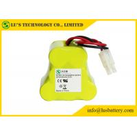 Buy cheap 9.6 Volt Rechargeable Battery Pack , 3000 Mah NIMH Battery Customized Color from wholesalers