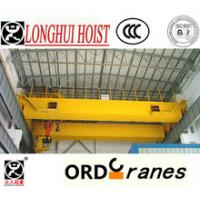 Buy cheap China supplier price for electric wire rope hoist 10ton,20ton,30ton,50ton overhead crane/bridge crane from wholesalers