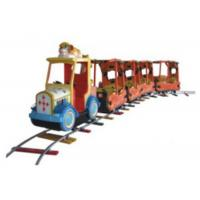 Buy cheap Large Capacity Outdoor Riding Train Set , Childrens Ride On Train In Theme Park from wholesalers