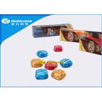 Wholesale Colorful Printing Personalized Chocolate Foil Wrappers Coloured Foil For Wrapping Chocolates from china suppliers