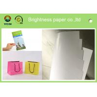 Buy cheap 100% Virgin Wood Pulp C2s Art Paper / Chrome Art Paper For Brochure Book from wholesalers