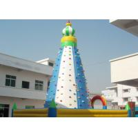 Buy cheap Tall Inflatable Sport Games / Climbing Wall For Amusement Park product
