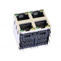 Buy cheap ARJM22A1-811-AA-CW2 5G Base-T Stacked RJ45 Female Connector 2X2 Port from wholesalers