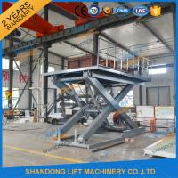 Buy cheap Stationary Scissor Lift Platforms Hydraulic Lifting Equipment 5T 1.5m from wholesalers