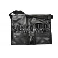 Buy cheap Best Selling Faux Leather Makeup Brush Tool Apron/Belt With Strap Light Weight from wholesalers