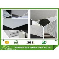 Buy cheap 700 x 1000mm Carton Full Grey Paper Board Double Sided Cardboard Mixed Pulp product