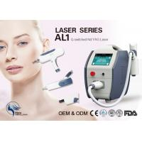 Buy cheap Skin Rejuvenation / Skin Cleansing Q Switch Laser Tattoo Removal Machine 22kg from wholesalers