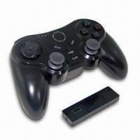 Buy cheap Wireless Controller for PS3, Ergonomically Designed and Four Controller Port Indicator LEDs from wholesalers
