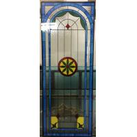 Buy cheap Customized decorative window glass with patina caming from wholesalers