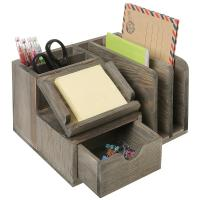 Buy cheap Student Neat Wood Desk Organizer Accessories Mdf Multi Functional product