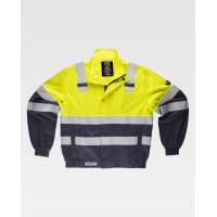 Wholesale High Visibility Safety Work Clothes with Big side patch pockets Anti Shrink from china suppliers