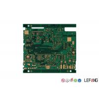 Wholesale 4 Layers PCB Control Board FR - 4 Base Material For Industrial Signal Transmission from china suppliers