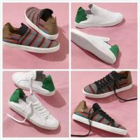 Buy cheap Leaves Design Shoes Box Pharrell Williams Adidas Originals Slip On Indian Casual Shoes Men & Women Sneakers Mesh Soft from wholesalers