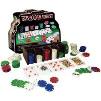 Buy cheap 200pcs Poker Chips With Tin Box, casino chip,poker chips set from wholesalers