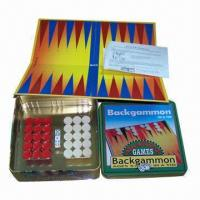 Buy cheap Backgammon Set in Tin from wholesalers