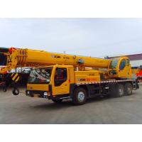 Buy cheap Multi-function QY25 EuroIII 25T mobile Truck Crane Overall Length 12650mm from wholesalers