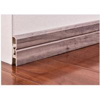 Wholesale Interior Decorative Pvc Skirting Boards Flooring Accessories With Strip from china suppliers