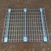 Buy cheap galvanized wire deck loading 500kg 500*1000mm/1000*1000mm 1000kg  for steel racking systems from wholesalers