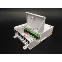Buy cheap Single Mode Fiber Optic Distribution Box FTTH SC Connectors 1*8 Optical Splitter from wholesalers
