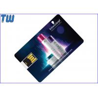 Buy cheap Mini UDP Chip Swing USB Credit Card Pen Drive Full Color Printing from wholesalers