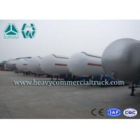 Wholesale Heavy Duty Tank LPG Semi Trailer For Gas Delivery Reliable Structure from china suppliers