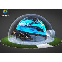 Buy cheap Immersive Projection Coming to a Movie Theater 5D Dome Movie Theater For from wholesalers