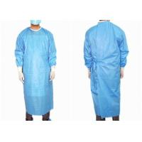 Buy cheap Reinforced Medical Disposable Surgical Gown Easy Wearing Waterproof Anti Statics from wholesalers