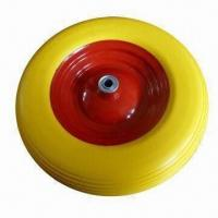 Buy cheap PU Foam Wheel with 200kg Load Capacity, Suitable for Wheelbarrow, Tool Cart and Machine from wholesalers