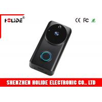 Buy cheap H.264 Black White Wireless Doorbell Intercom Camera With Video Alarm Door Phone Motion Detection Night Version from wholesalers