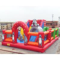 Buy cheap Bear Inflatable Theme Park Bounce House Gonflables Jumping Castle Digitial from wholesalers