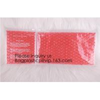 Buy cheap Cosmetic Packing Laser PVC Make Up Bag With Zipper Top Heart-Shaped Air Bubble Packaging Bag, bagease, bagplastics from wholesalers