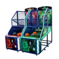 Buy cheap Fancy Shooting Street Basketball Arcade Game Machine Orange Green Blue Color from wholesalers