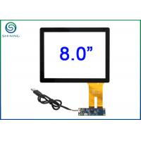 Buy cheap 8 4/3 Capacitive Touch Panel , Industrial Panel PC Pcap Usb Touch Screen from wholesalers
