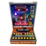 Buy cheap EC02 Earn Money Africa People Love Mario Fruit Game Machine Coin Operated Gambling Jackpot Casino Bonus Slot Machine from wholesalers