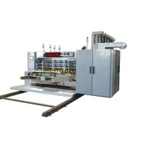Buy cheap Paper Glue Flexo Die Cutting Machine / 4 Color Printing Machine Computer Control from wholesalers