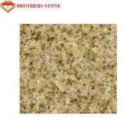 Buy cheap Natural Stone Flamed Granite Stone G682 Yellow Sand Granite Strong Stain Resistance from wholesalers