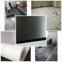 PP Recyclable Floor Protection Boards , Fire Retardant Protection Sheet