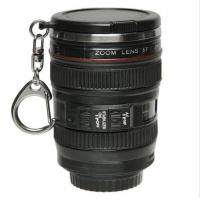 Buy cheap 2017 popular Mini Plastic Insulated Tumbler - Camera Lens Drink Cup With Keychain & Lid Mini-lens  cup promotional cup from wholesalers