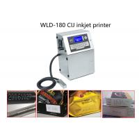 Buy cheap Quick Dry Ink Continuous Inkjet Printer Date Coding Machine For Medcine Box / Capsule from wholesalers