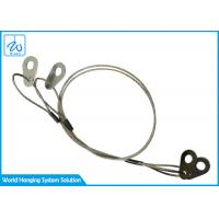 Wholesale 1.2mm Extension Spring Safety Cable Loop Wire Rope With Stainless Steel Sheet from china suppliers