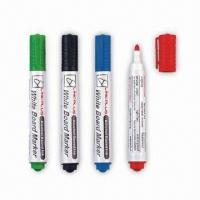 Buy cheap White Board Marker, Inks Can be Supplied in Four Different Colors product