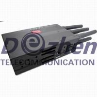 Buy cheap Selectable Portable 3G Phone LoJack GPS Jammer with High Capacity Battery from wholesalers